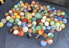 100+ Vintage Marbles: Nice Lot!!!