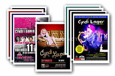 CYNDI LAUPER  - 10 promotional posters - collectable postcard set # 1