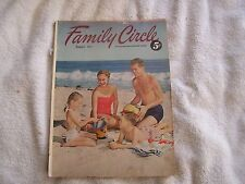 Family Circle Magazine August 1952