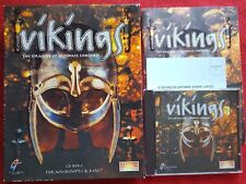 VIKINGS THE STRATEGY OF ULTIMATE CONQUEST BIG BOX EDITION PC CD-ROM 3.1 & MAC