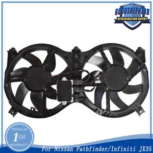 Radiator Cooling Fan For 2013-17 Nissan Pathfinder 2013 Infiniti JX35 NI3115149