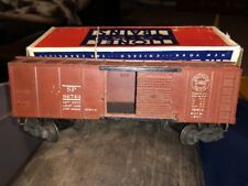 Lionel No. 6454 Southern Pacific Box Car, Brown With Broken Circle train rare