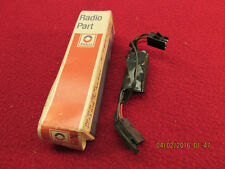 NOS 71 72 73 CADILLAC OLDSMOBILE ALL AM RADIO FILTER ASSEMBLY & WIRING HARNESS