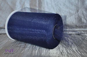 """TULLE ROLL SPOOL 6""""x100 YDS (300 FT) TUTU WEDDING BOW GIFT CRAFT DECORATION"""