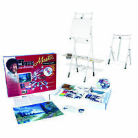 Bob Ross Master Artist Oil Paint Set & 2-in-1 Studio Easel Combined Set