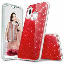 For Samsung Galaxy A01 A10e A20S A20 Shockproof Glitter Protective Phone Case