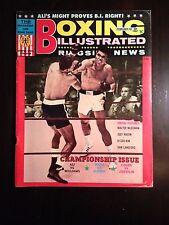Vintage February 1967 BOXING Illustrated Ringside News Magazine MUHAMMAD Ali