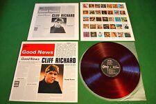 Cliff Richard Good News Japan LP 1st press von 1967 red Vinyl Odeon OP-8227