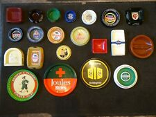 More details for a large collection of vintage pub ashtrays and trays