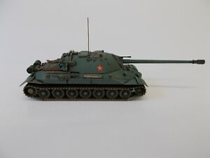 1:72 BUILT & PAINTED RUSSIAN IS-7 HEAVY TANK