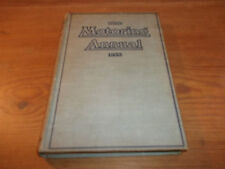 Book. The Motoring Annual 1933. Herbert Henslowe. HB