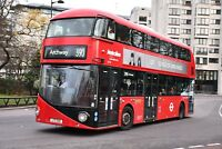 LT15 LTZ 1015 METROLINE NEW ROUTEMASTER 30TH DEC 2017 6x4 London Bus Photo B