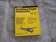 Certified Flight Instructor Test Prep 1996-1997