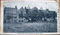1907 Postcard: 'State Normal School Dormitory - Kearney, Nebraska NE'