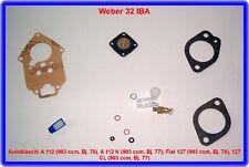 Autobianchi A 112,Fiat 127,Weber 32 IBA Verg. Rep.Kit