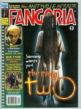 Fangoria #242 April 2005 VF/NM The Ring Two, Sin City, House of Wax
