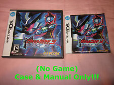 ~ (No Game) Case & Manual Only ~ Megaman Star Force Black Ace . Nintendo DS