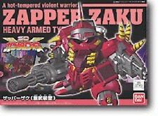 BANDAI SD Gundam Force ZAPPER ZAKU Heavy Armed Type Model Kit NEW from Japan