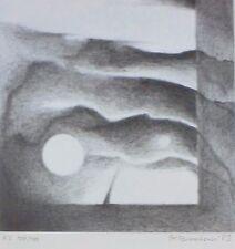 STANISLAW PANCZAKIEWICZ HAND SIGNED NUMBERED 1983 LITHOGRAPH POLISH ARTIST