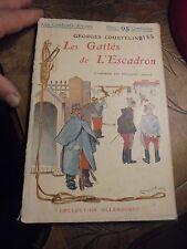 LES GAITES DE L'ESCADRON Gorges Courteline illustré par Emmanuel Barcet 190?