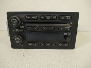 04-06 Canyon Colorado 6 CD Changer Radio Receiver ID 15234935 OEM LKQ