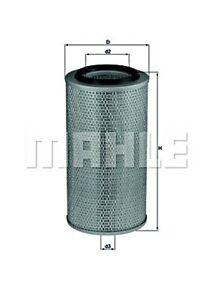 MAHLE Air Filter For DAF MERCEDES MAN IVECO INTERNATIONAL HARV. FENDT 95 645372