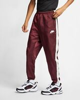 Nike Sportswear NSW Trackpants Men's New Woven Trousers Night Maroon AR1628-681