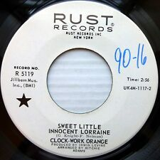 CLOCK-WORK ORANGE garage mint minus RUST 45 Sweet Little Innocent Lorraine e3365