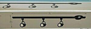 """Hampton Bay 44"""" Black 3 Light LED Linear Track 1003228469"""