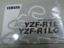 1999 Yamaha YZF-R1L YZF R1LC Owners Operators Owner Manual 4XV-28199-11 NEW