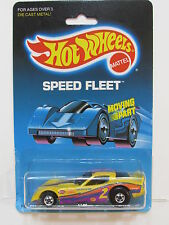 HOT WHEELS 1988 SPEED FLEET FIREBIRD FUNNY CAR PURPLE TAMPO