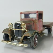 1934 Ford Flatbed Truck Weathered Rusty Barn Find Custom Diecast - 1/32 Scale
