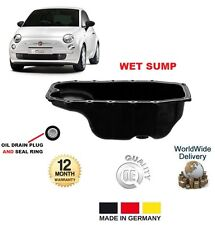 FOR FIAT 500 C L 1.3 D MULTIJET 2007-->ON ENGINE OIL WET SUMP