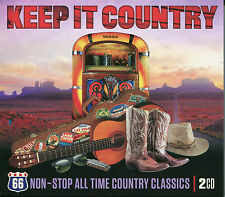 KEEP IT COUNTRY 66 NON-STOP ALL TIME COUNTRY CLASSICS - 2 CD BOX SET