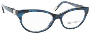 Dolce & Gabbana DG 3118 1919 Blue RX Prescription Eyeglasses Frames 54mm Italy