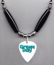 Green Day Kerplunk White Guitar Pick Necklace