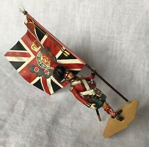 CHAS STADDEN MILITARY FIGURE. ROYAL SCOTS RGT. OF FOOT. 1815. (STUDIO PAINTED)