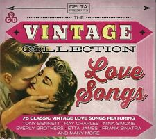 THE VINTAGE COLLECTION LOVE SONGS 75 CLASSICS Inc RAY CHARLES, NINA SIMONE &MORE