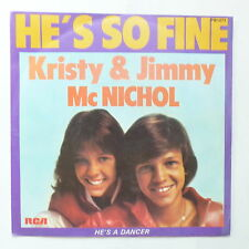 KRISTY & JIMMY MCNICHOL He's so fine  PB 1271
