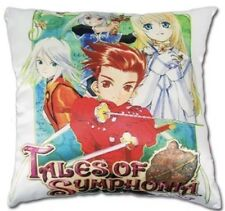 *NEW* Tales of Symphonia Group Square Throw Pillow by GE Animation *BRAND NWT*