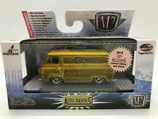 M2 Machines Super Chase 1 of 252 WW 1965 Ford Econoline Van  Custom GOLD special