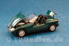BMW Z1 mit Senktür, grün metallic, M 1:43 Schabak 1160 Originalverpackung!