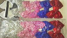 Joblots 24 pcs Mixed Color Bow Design Brillant Cheveux hairgrips Wholesale Lot 5