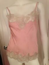 Pure Silk Night TopSize 8 Pink