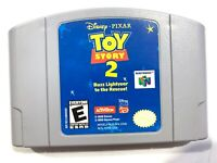 AUTHENTIC! Toy Story 2 Buzz Lightyear to the Rescue - Nintendo 64 N64 Game