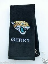Personalized Embroidered Golf Bowling Workout Towel Jacksonville Jaguars