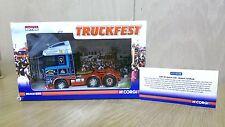 Corgi CC13220 diecast 1/50 Truckfest DAF XF Robert Laidlaw Ltd Ed 0002/2280
