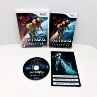 Metroid Prime 3 Corruption Nintendo Wii Video Game Complete With Manual