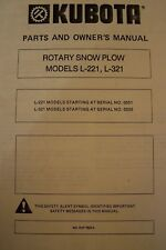 kubota outdoor power equipment manuals guides ebay rh ebay com my