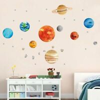 Solar System Wall Sticker Vinyl Decal Wallpaper Kids Room Decoration Planets